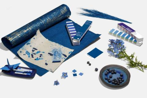 Pantone Pantone, considered the international authority on color trends, recently selected a sh ...