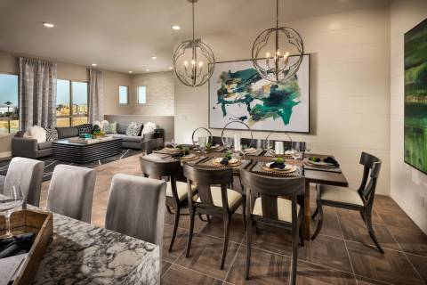 Trilogy in Summerlin is an age-qualified community. During the month of December it will offer ...