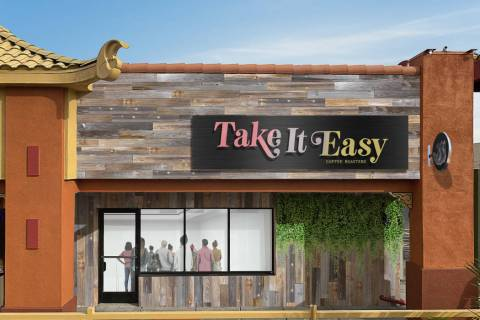 Makers & Finders owner Josh Molina has plans for a new coffee shop Take It Easy, opening in Apr ...