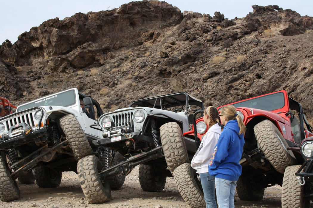The Nellie E. Saloon is a favorite destination of many off-road enthusiasts. (Deborah Wall/Las ...