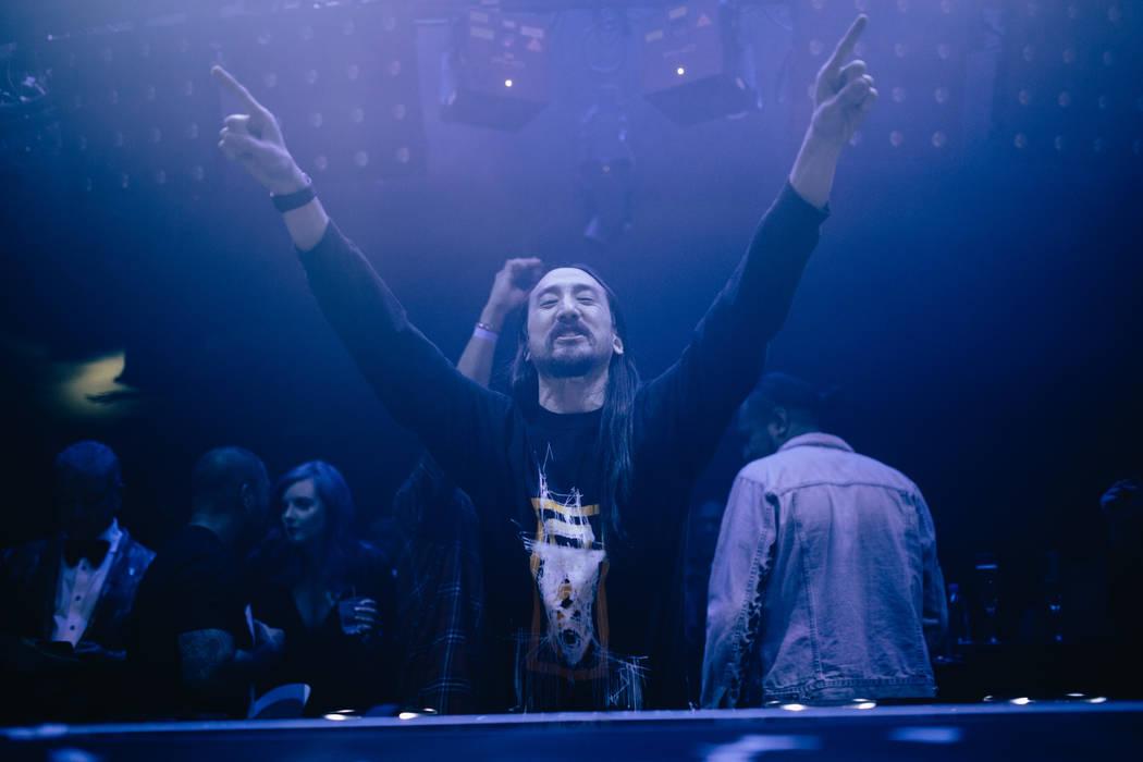 Steve Aoki headlines at Hakkasan Nightclub on New Year's Eve. (Joe Janet)