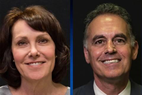 Jacky Rosen and Danny Tarkanian (Las Vegas Review-Journal)