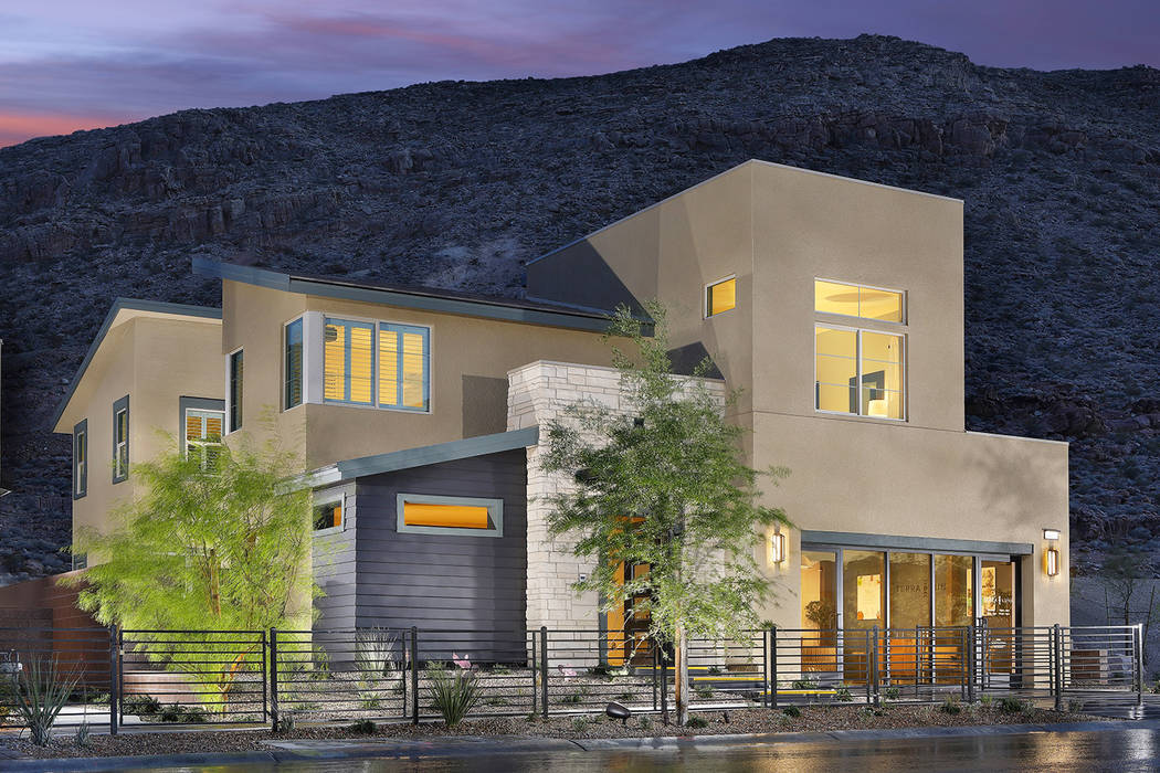 Summerlin is home to an all-star roster of national homebuilders. Pardee Home's Terra Luna is a ...