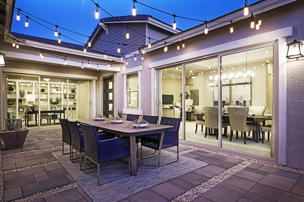 Summerlin has six of the nation's top 10 largest homebuilders. Scots Pine by Richmond America ...