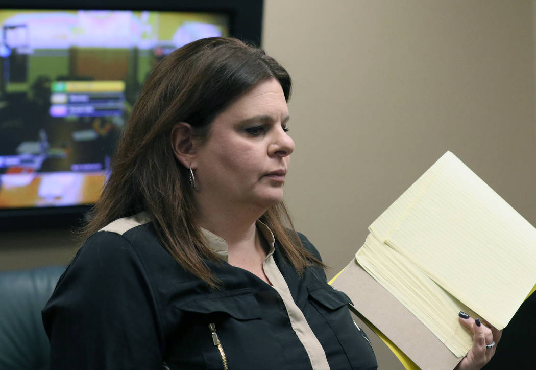 Nevada State Board of Dental Examiners General Counsel Melanie Bernstein Chapman, was terminate ...