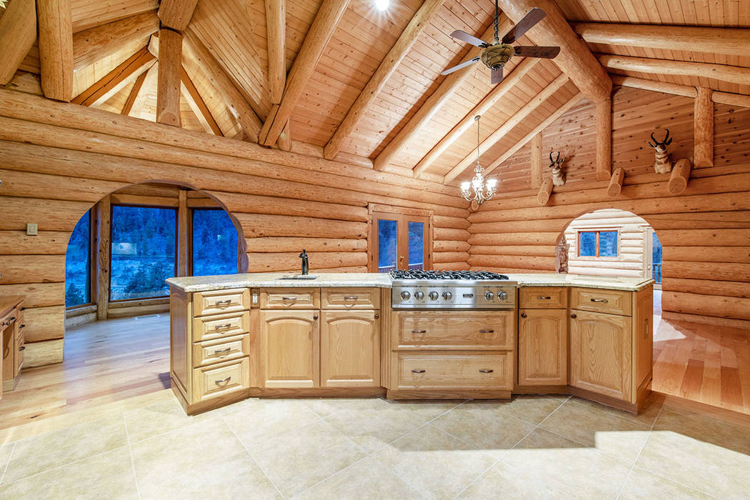 Berkshire Hathaway Home Services The kitchen is complete with professional-grade Viking applian ...