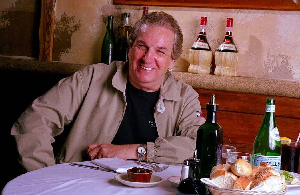 In a July 28, 2001, file photo, Danny Aiello poses for a photo at Gigino restaurant in New York ...