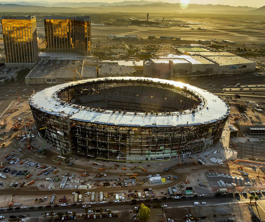 When the University of Nevada, Las Vegas, football team moves into the new Allegiant Stadium ne ...