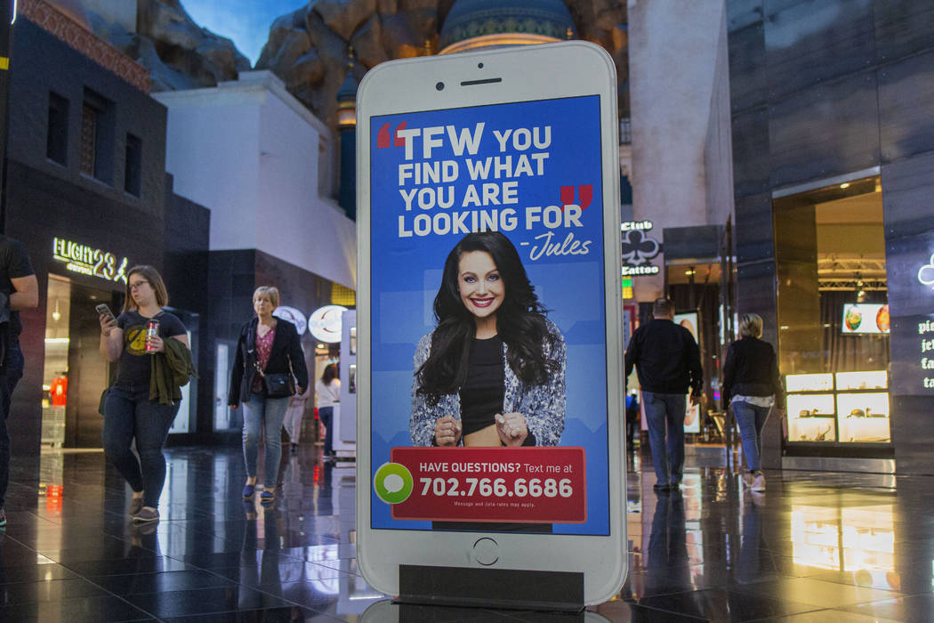 """An advertisement of """"Jules,"""" an AI-powered chat bot that helps customers find stores ..."""