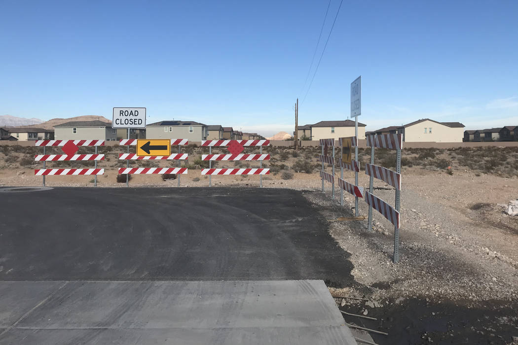 An area near the intersection of Meranto Avenue and Teepee Lane is shown Dec. 13 in southwest L ...