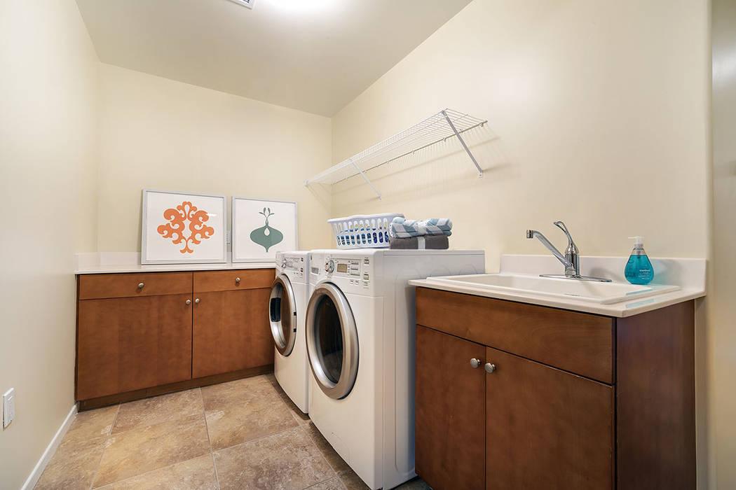 The laundry room. (One Las Vegas)