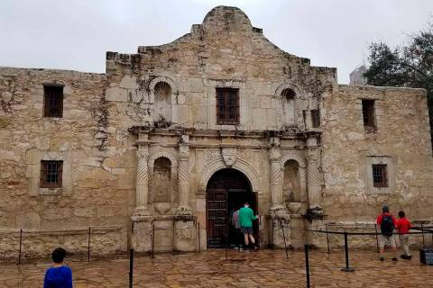 This Nov. 30, 2019 photo shows the church on the grounds of The Alamo in San Antonio, Texas. Th ...
