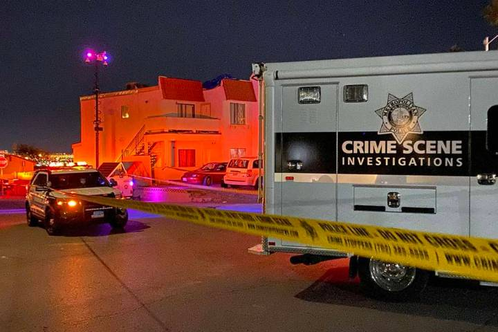A Metropolitan Police Department command center is being used for detectives to investigate a f ...