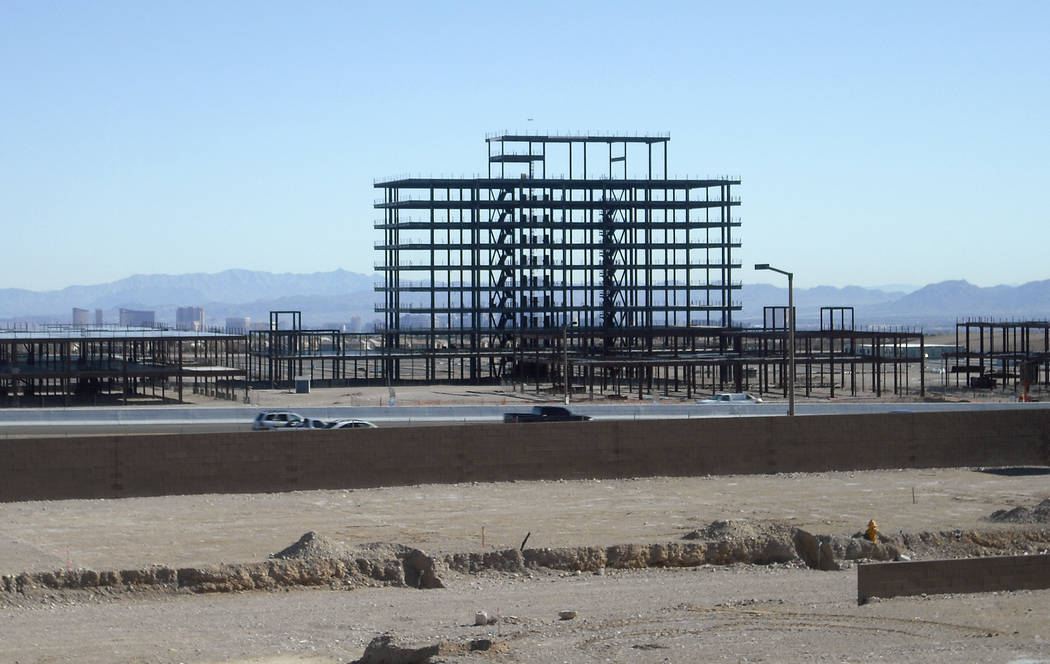 The outdoor mall now known as Downtown Summerlin is seen Dec. 14, 2008, in Las Vegas. The once- ...