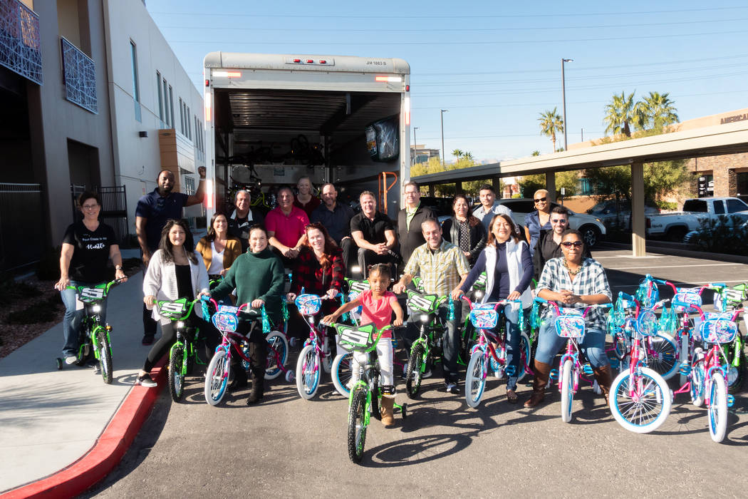 GLVAR The Greater Las Vegas Association of Realtors made its largest donation as a sponsor of t ...