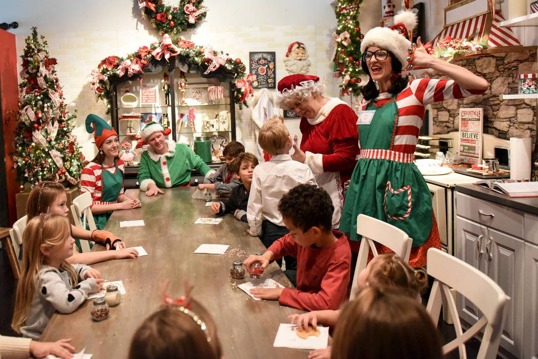 Tivoli Village is transformed into Operation Santa Workshop by founder Nicole Tomlinson of the ...