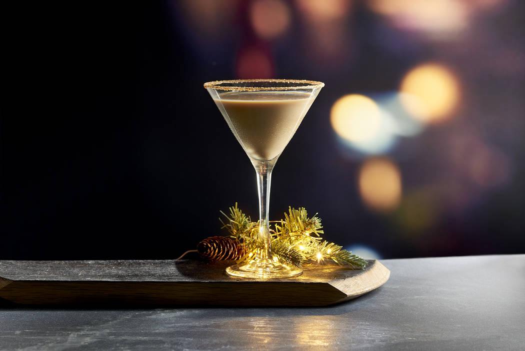 The Holiday Cheer cocktail at Mastro's Ocean Club. (Mastro's Restaurants)