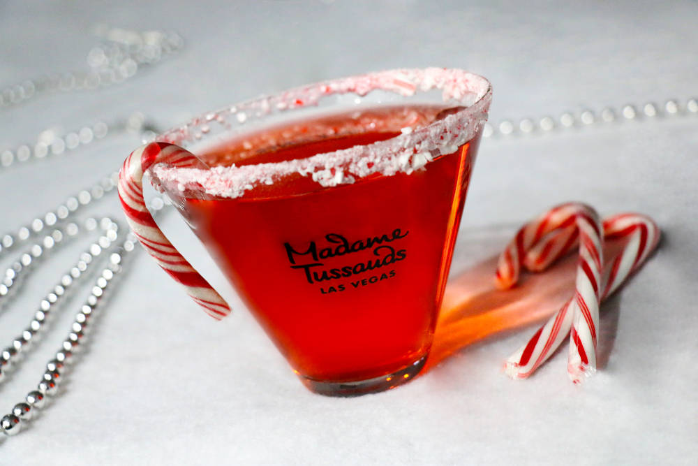 The Peppermint Martini at Hangover Lounge at Madame Tussauds. (Madame Tussaud's)