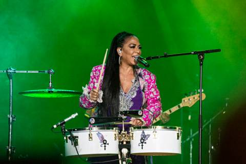 Sheila E. performs at the 2019 Essence Festival at the Mercedes-Benz Superdome, Friday, July 5, ...