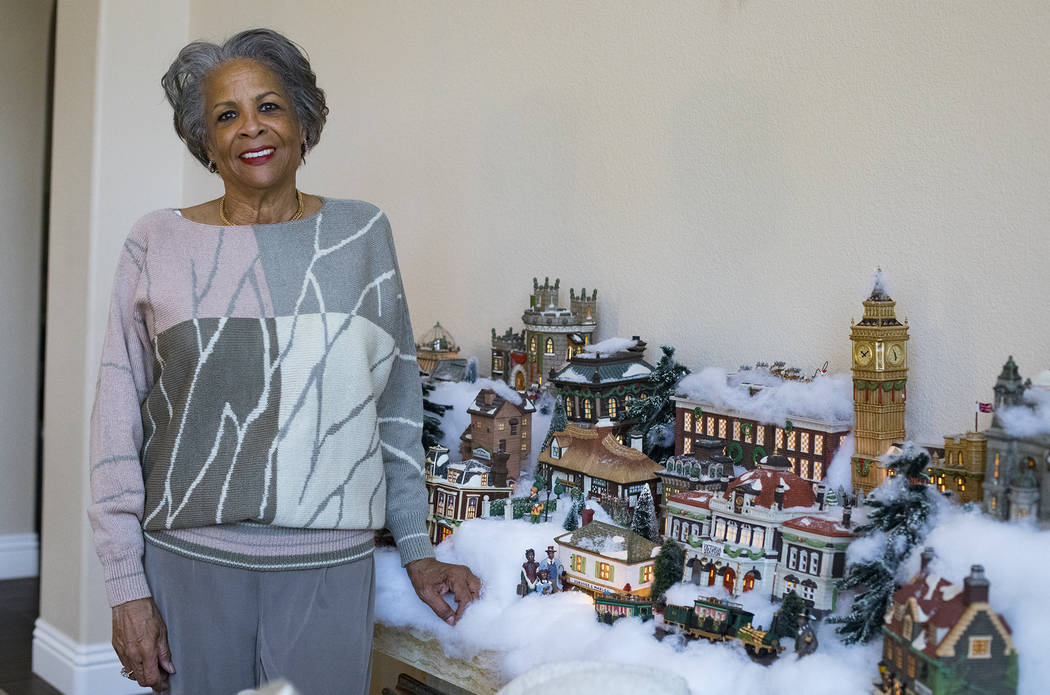 Roxanne Givens at her home in Las Vegas, Wednesday, Dec. 18, 2019. Givens has carried on her mo ...