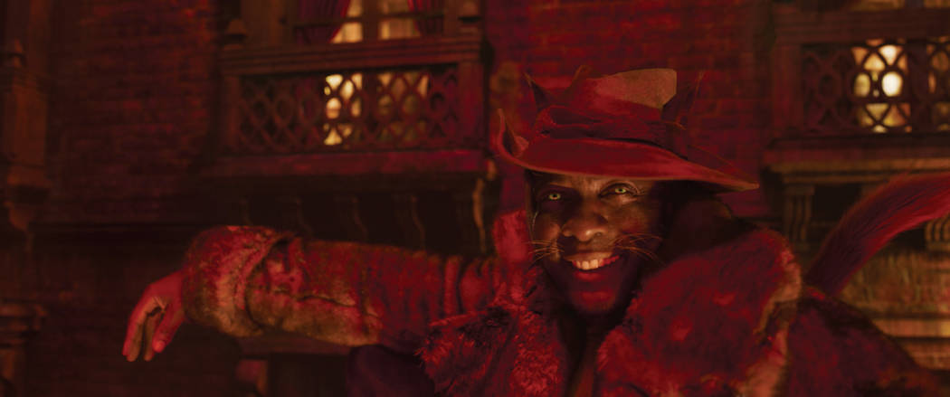 """Idris Elba as Macavity in """"Cats,"""" co-written and directed by Tom Hooper. (Universal P ..."""