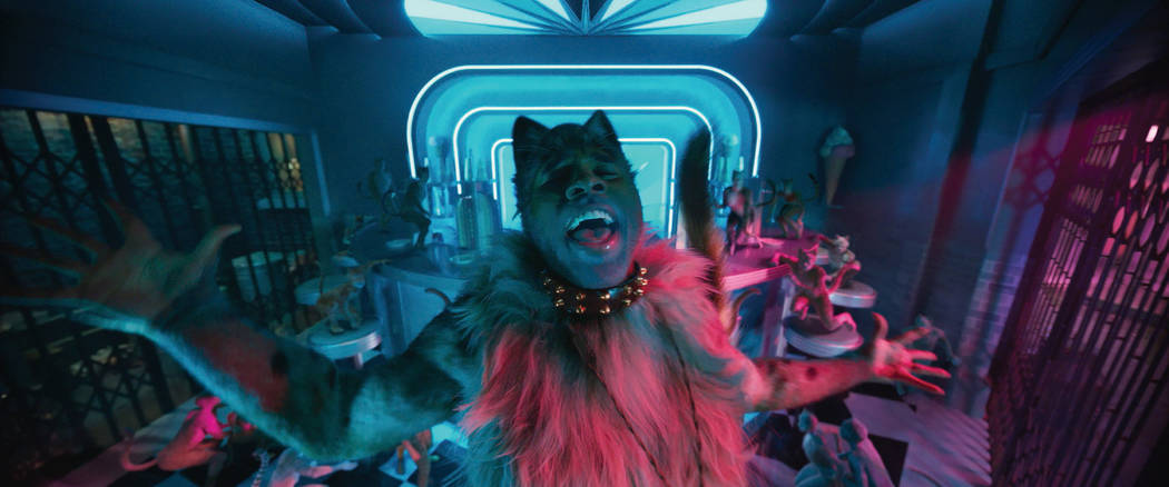 """Jason Derulo as Rum Tum Tugger in """"Cats,"""" co-written and directed by Tom Hooper. (Uni ..."""