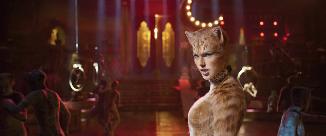 """Taylor Swift as Bombalurina in """"Cats,"""" co-written and directed by Tom Hooper. (Univer ..."""