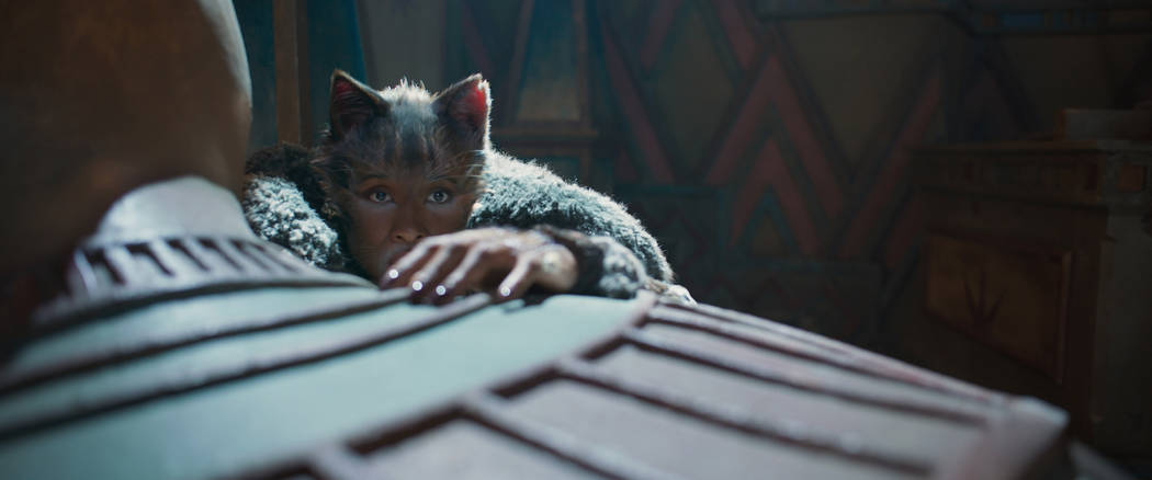 """Jennifer Hudson as Grizabella in """"Cats,"""" co-written and directed by Tom Hooper. (Univ ..."""