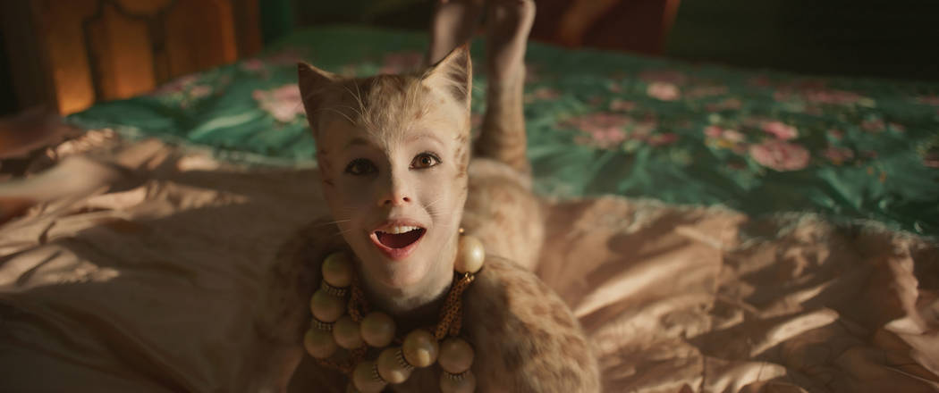 """Francesca Hayward as Victoria in """"Cats,"""" co-written and directed by Tom Hooper. (Univ ..."""