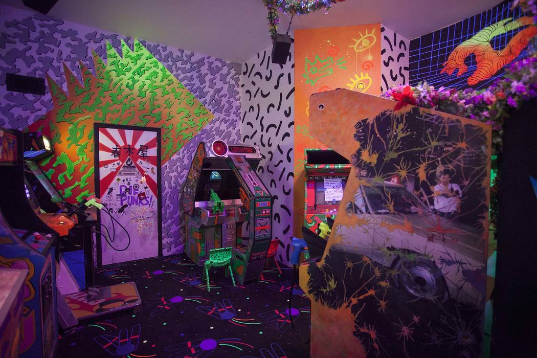 The multiverse has an arcade. (Kate Russell, Courtesy of Meow Wolf)