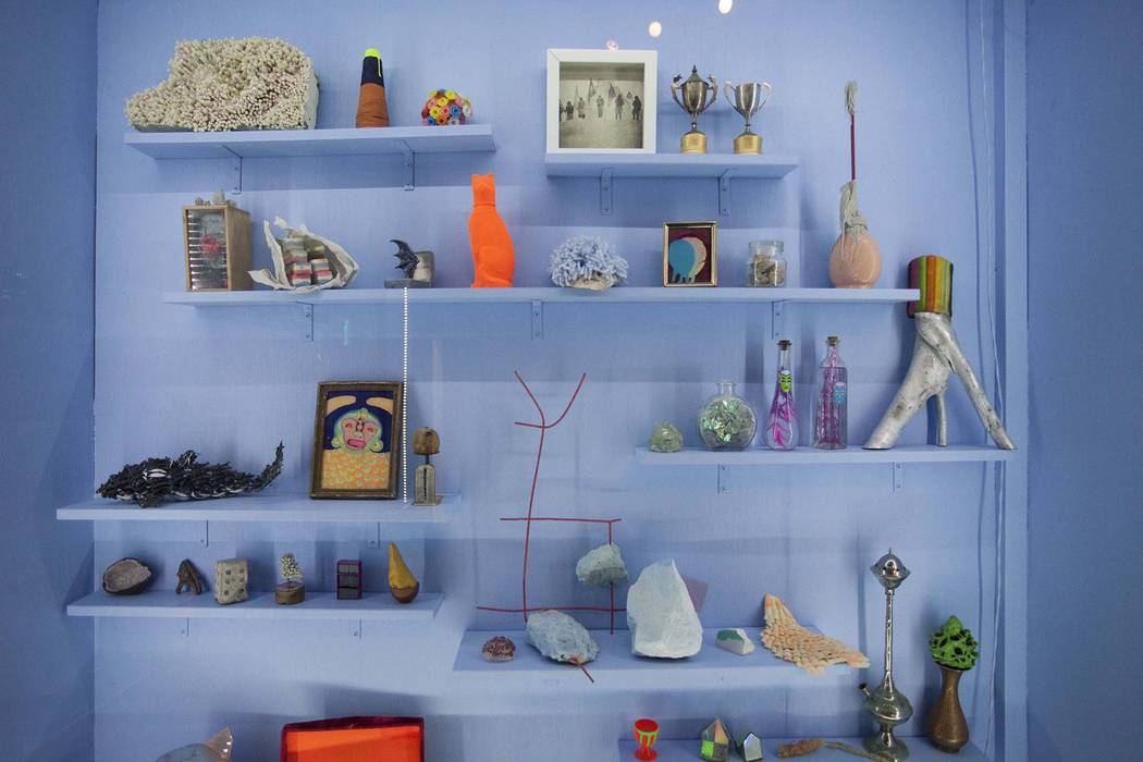 A display in Meow Wolf House of Eternal Return shows peculiar objects. (Kate Russell, Courtesy ...