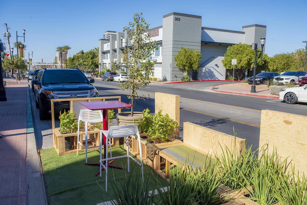 Mini Las Vegas >> Henderson To Bring Mini Parklets To Water Street In Summer