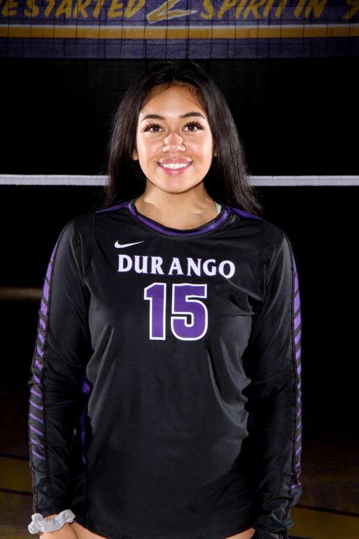 Anuhea Faitau, Durango (Durango volleyball photo)