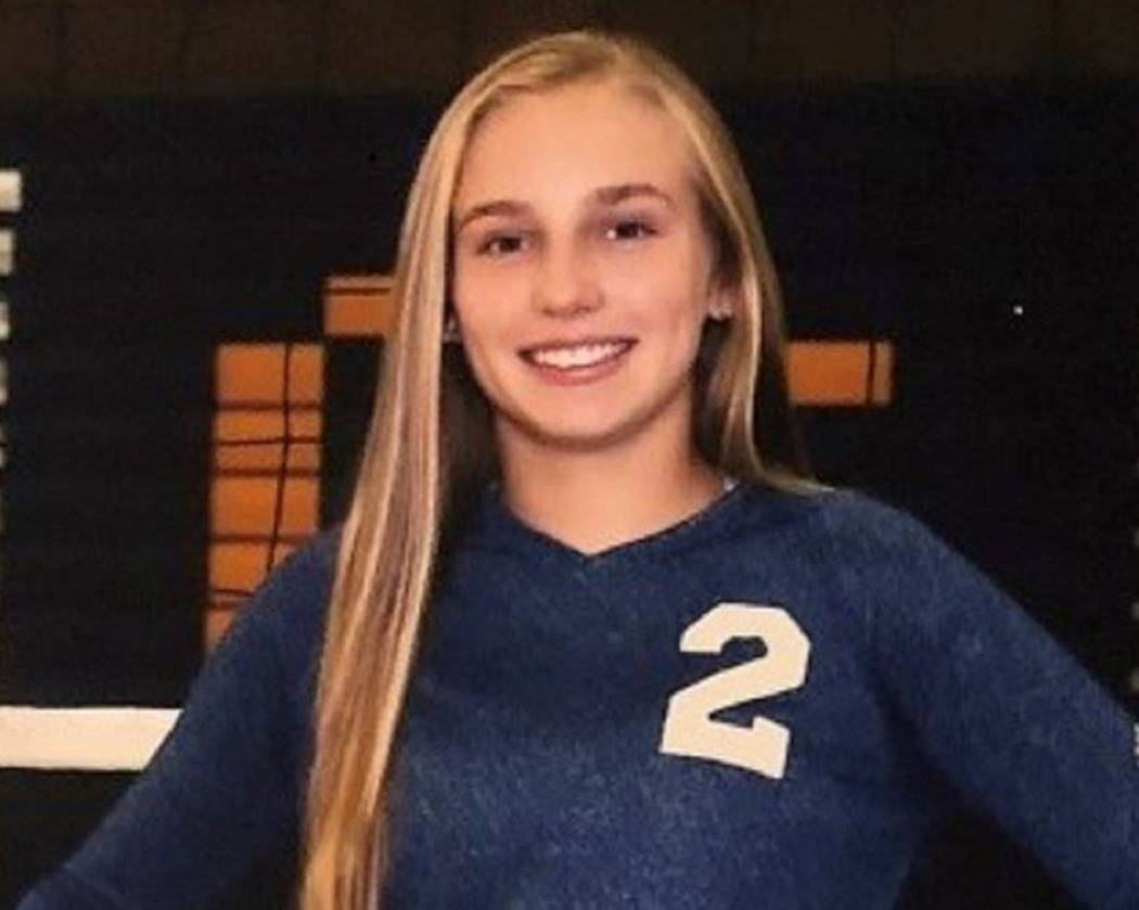 Ava Wright, Boulder City (Boulder City volleyball photo)