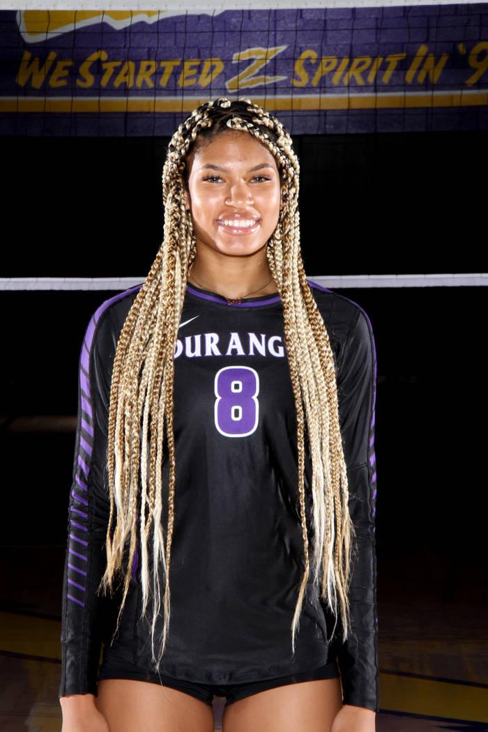Jaquelyn Robinson, Durango (Durango volleyball photo)