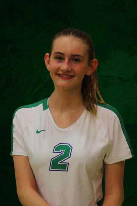 Jennifer Soha, Green Valley (Green Valley volleyball photo)
