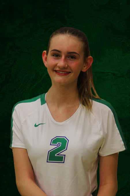 Jennifer Soha, Green Valley (Green Valley volleyball photo)