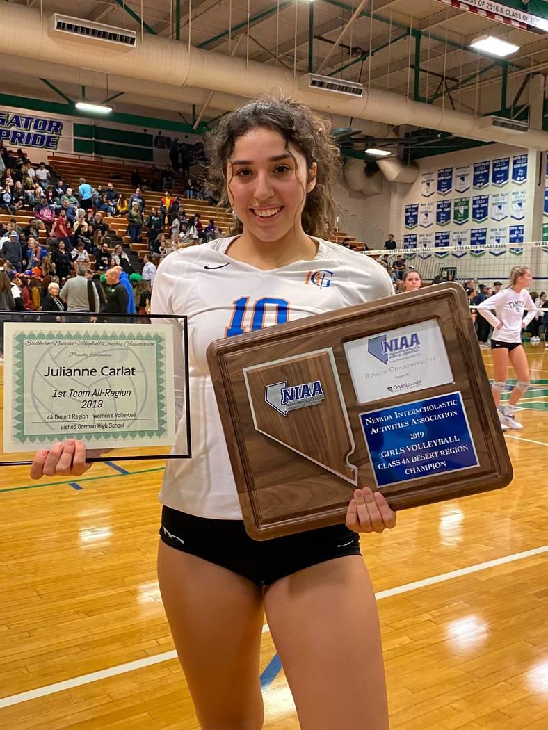 Julianne Carlat, Bishop Gorman (Bishop Gorman volleyball photo)
