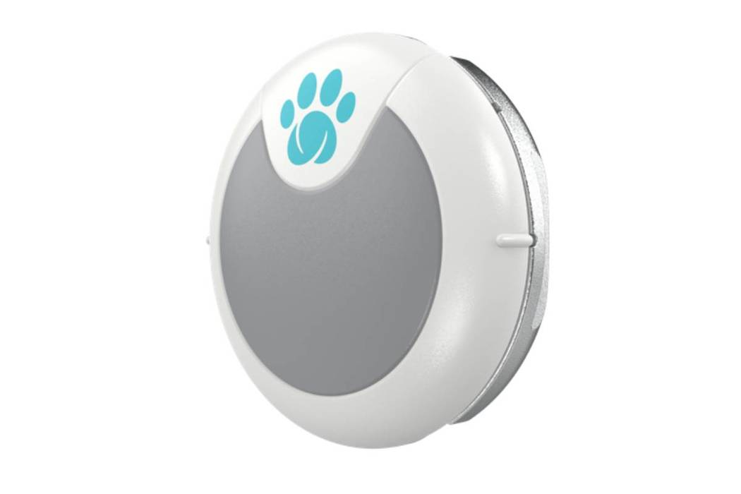 Sure Petcare's Animo attaches to collars and uses Bluetooth to monitor a pet's daily activi ...