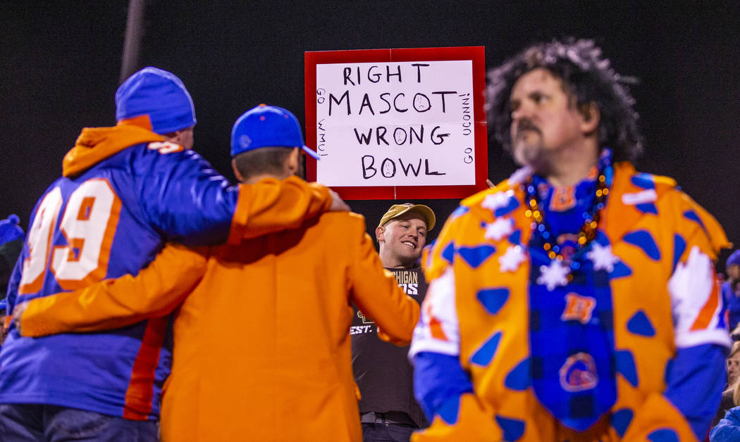 Boise State Broncos fans are not terribly pleased with the punishing loss by Washington Huskies ...