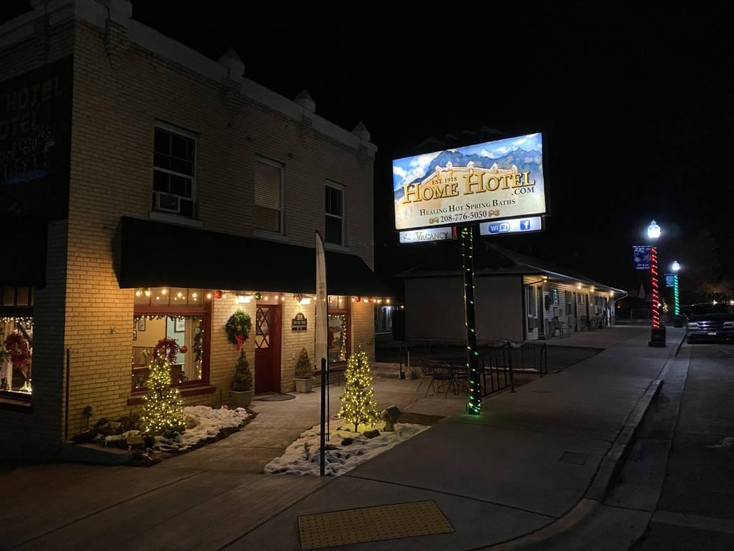 The Old Home Motel in Lava Hot Springs, Idaho. (John Katsilometes/Las Vegas Review-Journal) @Jo ...