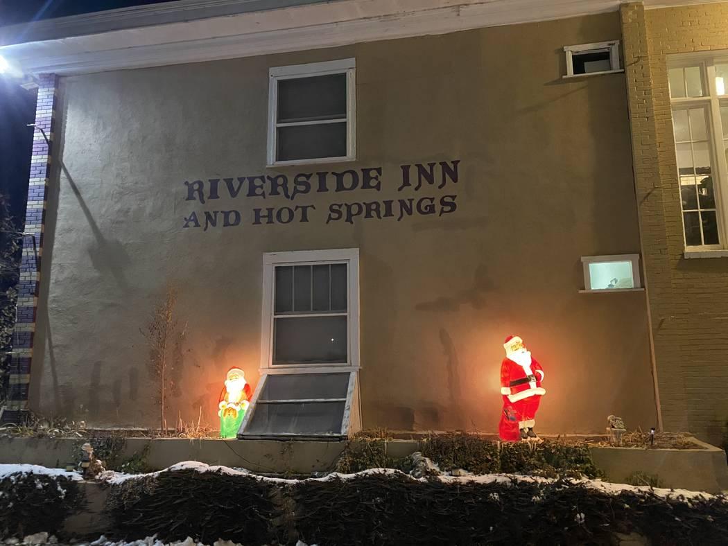 The Riverside Inn in Lava Hot Springs, Idaho. (John Katsilometes/Las Vegas Review-Journal) @Joh ...
