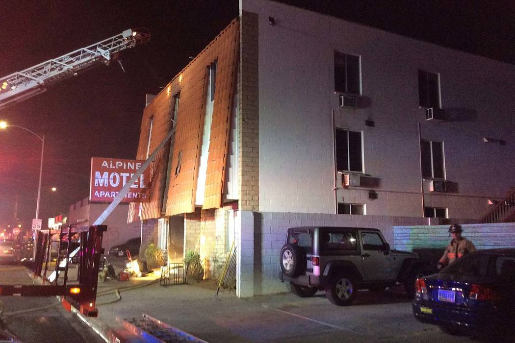 A fire at the Alpine Apartment Motel early Saturday morning left six people dead and displaced ...