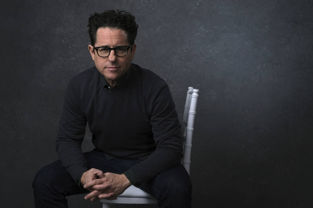 This Dec. 3, 2019 photo shows writer-director J.J. Abrams posing for a portrait to promote his ...