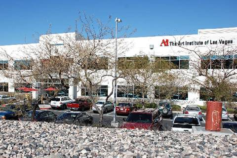 The Art Institute of Las Vegas, 2350 Corporate Circle in Henderson. (Google Street View)