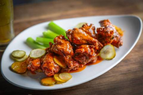 An order of wings from Robert Irvine's Public House. (Tropicana)