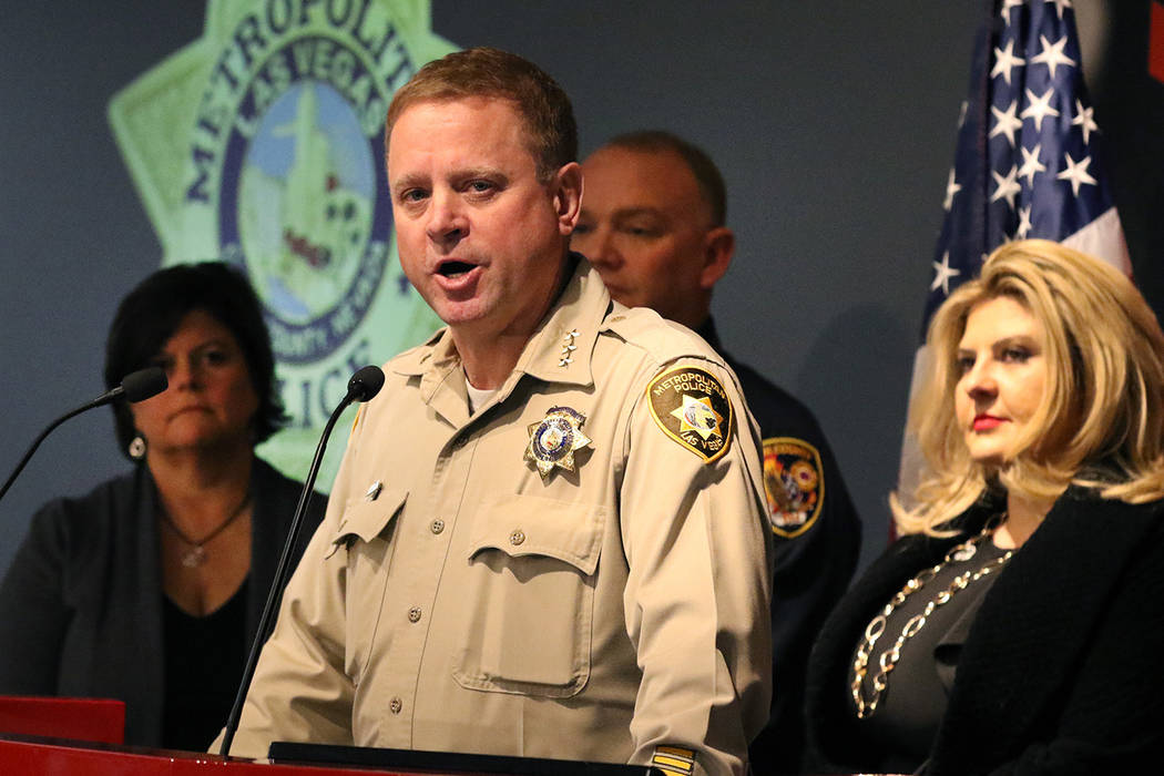 Undersheriff Kevin McMahill speaks about preparations for the upcoming New Year's Eve ce ...
