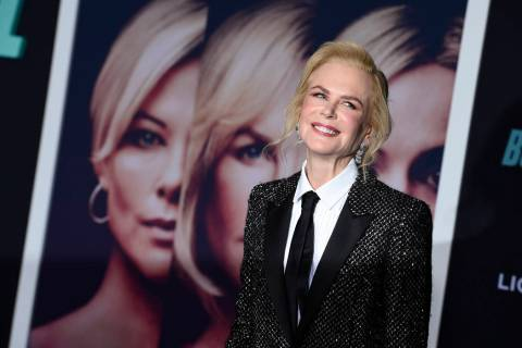 "Nicole Kidman attends the premiere of ""Bombshell"" at Regency Village Theatre on Tuesd ..."