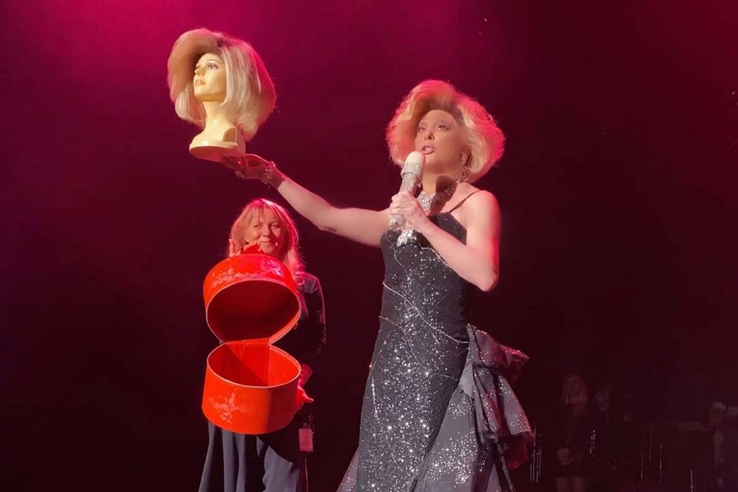 "Frank Marino retires his Joan Rivers portrayal during his ""Legends in Concert"" performance at t ..."