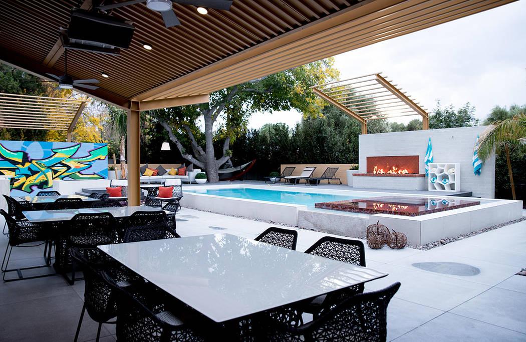 The pool area. (Tonya Harvey Real Estate Millions)